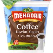 MEHADRIN Yogurt, Lowfat, Coffee