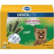 Pedigree Fresh Mini Pedigree Dentastix Fresh Mini Dog Treats