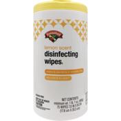 Hannaford Disinfecting Wipes Lemon Scent