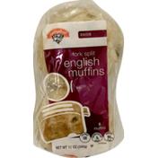 Hannaford Raisin English Muffins