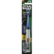 GUM Toothbrush, Soft, Anakin Lightsaber