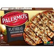 Palermo's Flatbread Sausage & Mushroom Pizza