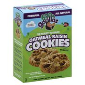 600 Lb Gorillas Ready to Bake Cookies, Oatmeal Raisin, with White Chocolate Chunks