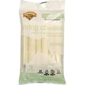 Hannaford Reduced Fat Mozzarella String Cheese