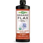 Nature's Way Organic Flax Oil