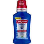 Colgate Peroxyl Mouth Sore Rinse Mild Mint