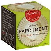 PaperChef Cups, Parchment Paper, Bake, Extra Large, Box