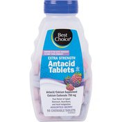 Best Choice Assorted Berries Extra Strength Antacid Tablets