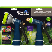 Ray Padula Rear Trigger 7-Pattern & Adjustable Nozzle, 2 Pack