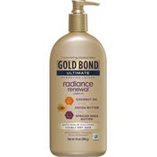 Gold Bond Lotion, Hydrating, Radiance Renewal