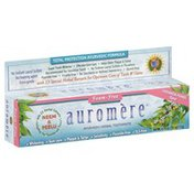 Auromere Toothpaste, Ayurvedic Herbal, Foam-Free, Cardamom-Fennel Flavor