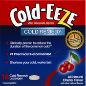 Cold-Eeze Cold Remedy, Lozenges, Cherry Flavor
