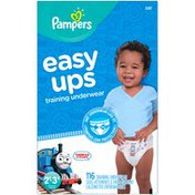 Pampers Easy Ups Thomas & Friends Size 2T–3T Training Underwear