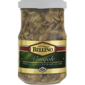 Bellino Vongole Whole Shelled Baby Clams