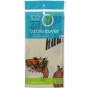 Simply Done Plastic Table Cover, Thanksgiving Turkey