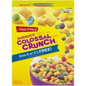 Malt-O-Meal Berry Colossal Crunch Malt-O-Meal Berry Colossal Crunch Cereal