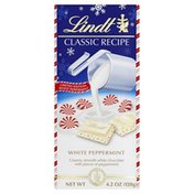 Lindt Chocolate, White Peppermint