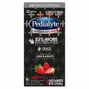 Pedialyte AdvancedCare Plus Strawberry Freeze Electrolyte Powder