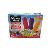 Minute Maid Fruit Punch, Berry Punch, Tropical Punch Flavored 100% Juice Sticks