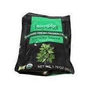 Simply Beyond Organic Fresh Frozen Parsley Leaves Herbs