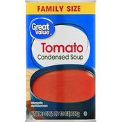 Great Value Condensed Soup, Tomato, Family Size
