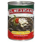 El Mexicano Refried Beans, Black