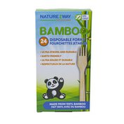 Naturezway Bamboo Disposable Forks