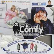 The Comfy Blanket/Sweatshirt, Gray