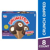 Drumstick Crunch Dipped Ice Cream Cones Variety Pack