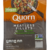 Quorn Fillets, Meatless, Vegan