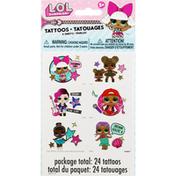 Unique Tattoos, LOL Surprise, 4 Sheets