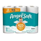 Angel Soft Toilet Paper, 18 Mega Rolls, 2-Ply
