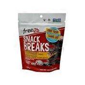 Free 2b Foods Snack Breaks Peppermint Dark Chocolate