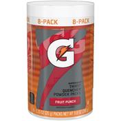 Gatorade Thirst Quencher, Powder Packs, 02 Perform, Fruit Punch Flavor