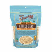 Bob's Red Mill Organic, Extra Thick Rolled Oats