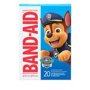 Band-Aid Brand Adhesive Bandages Featuring Nickelodeon Paw Patrol, Assorted Sizes