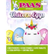 PAAS Egg Decorating Kit, Unicorn