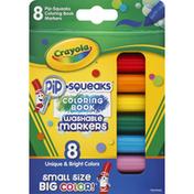 Crayola Washable Markers, Coloring Book, 3+