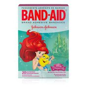 Band-Aid Brand Adhesive Bandages Featuring Disney Princesses, Assorted Sizes