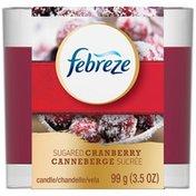 Febreze Candle Febreze Candle Sugared Cranberry Air Freshener (1 Count, 3.5 Oz)  Air Care