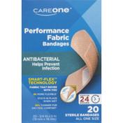 CareOne Antibacterial Performance Fabric Bandages
