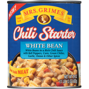 Mrs Grimes Chili Starter, White Bean