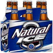 Natural Ice Beer Bottles