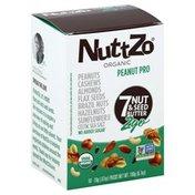 Nutt Zo 7 Nut & Seed Butter, Organic, Peanut Pro, 2 Go