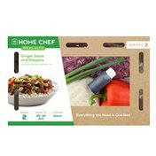 Home Chef Meal Kit Teriyaki Steak And Peppers With Peanuts And Jasmine Rice