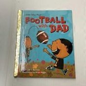 Golden Books Little Golden Book Football With Dad Hardcover Book