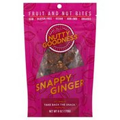 Nutty Goodness Fruit and Nut Bites, Snappy Ginger