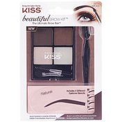 Kiss Brow Kit, All-In-One, Natural