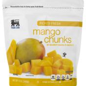 Food Lion Mango Chunks, Picked Fresh, Pouch
