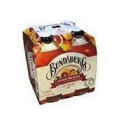 Bundaberg Brewed Drinks Blood Orange Flavored Sparkling Fruit Drink